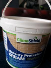 CLIMASHIELD Masonry Waterproofing Cream BRICK & STONE WALL SEALER