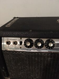Early 70s Fender Bassman 100 head with cab  Cambridge Kitchener Area image 2