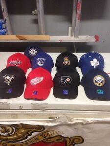 Lot of Brand new NHL caps 9$ each