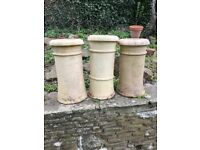 Old reclaimed chimney pots , perfect condition