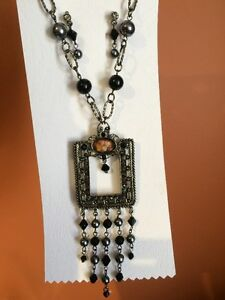 Antique Necklace and Earrings Set *Brand New* Never Worn