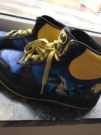 Batman boots.