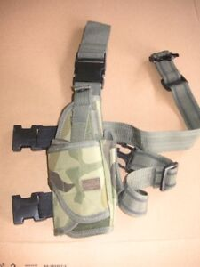 Airsoft Leg Holster Woodland camo