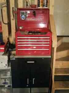 Toolbox including tools work bench mastercraft