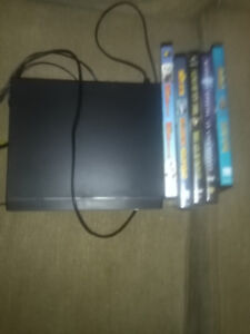 DVD player 15.00. great condition. Includes remote control
