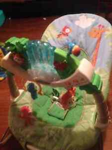 Fisher price rain Forrest bouncy chair London Ontario image 1