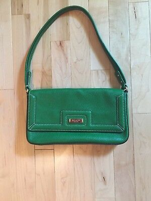 Kate Spade Kelly Green Pebble Leather Handbag