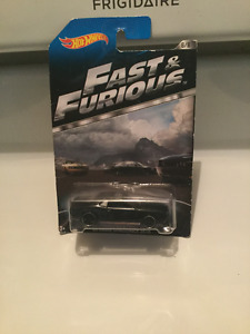 Hot wheels ..fast and the furious car..in package still