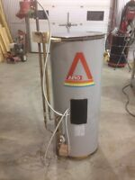 Indirect fired hot water heater