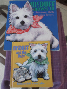 2 Books about McDuff the Westie - Adorable story and pictures