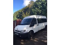 Ford transit minibus 55 plate