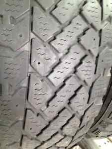 Set of 2 Radial Winter tires 205/55/16