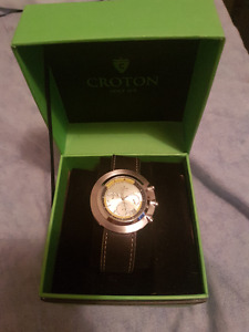 Brand new never worn Croton watch.