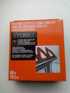 Roof and Gutter De-Icing Cable KIt