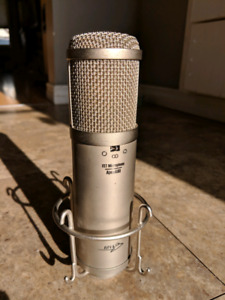 Apex 480 FET Condenser Microphone with Mini Toggle Switches