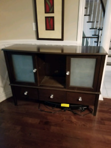 Mint Used Condition Wooden Counsel with Drawers