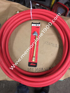 """Eco Air meter 20"""" Long red/black hose with Air Chuck"""