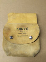 Kunys leather nail pouch