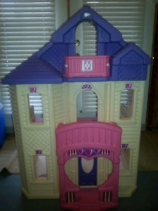 Princess Doll Play House - over 4 feet tall