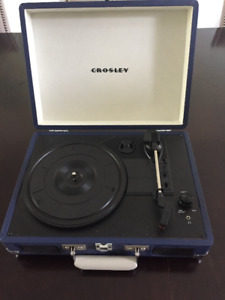 Table tournante - DELUXE PORTABLE TURNTABLE