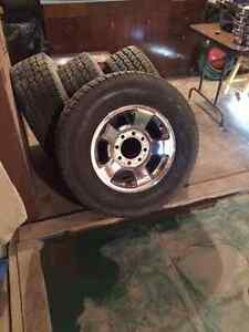 2006 DODGE RAM 2500 RIMS and TIRES
