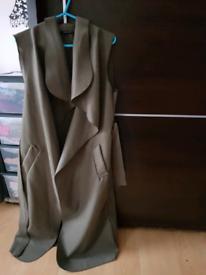 Ladies sleeveless cardigan