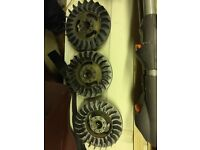Lambretta Sil Electronic new Flywheel & Stator Li/Sx also other Ducati etc