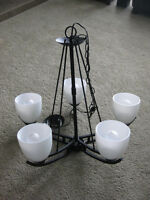 Modern & Tasteful Chandelier Looking For A New Home