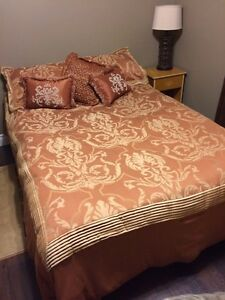 Double bed & box spring