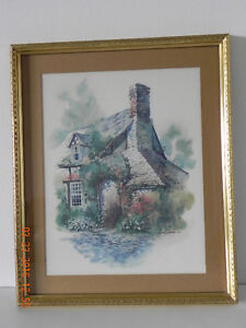 Cottage print by:David Solomon P-6