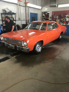 1973 Plymouth Duster 360, 4 vitesses