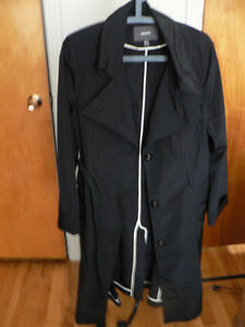 Imperméable noir, MEXX black trench coat
