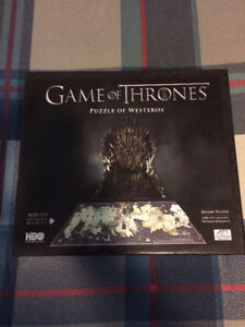 Game of Thrones 4D Puzzle - 1400+ Pieces & 65 Buildings
