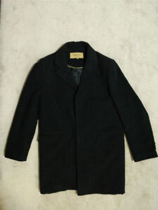 Mens Over Coat Size L - Wool & Cashmere