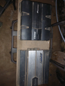 12 inch Subs and amps