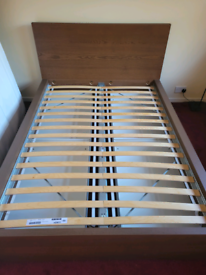 MALM Ikea double bed with storage