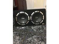 Subwoofer Bass Box- Slick SLR 1200 WATTS