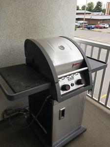 Coleman 2 burner natural gas BBQ