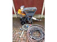 Putzmeister mp 12 Rendering plastering machine not pft ritmo g5 g4