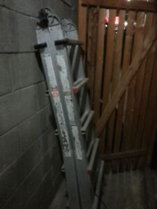 Multi Telescopic heavy duty Ladder  22""