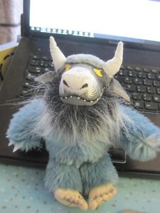 """Where The Wild Things Are Bernard Plush Toy 8"""""""