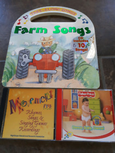 Baby/Kids Song Book & CDs