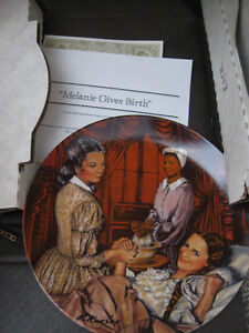 Vintage Gone With The Wind Collectible Plates Prince George British Columbia image 2