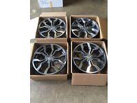 "Brand new set of 18"" Alloy wheels Audi VW ."