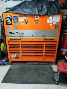 Mac tools triple bank tool box
