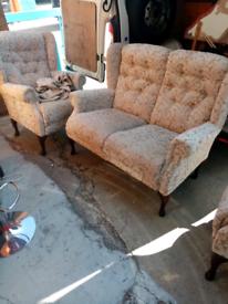 2+1+1 wingback sofa set