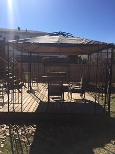 10x10 gazebo with canopy