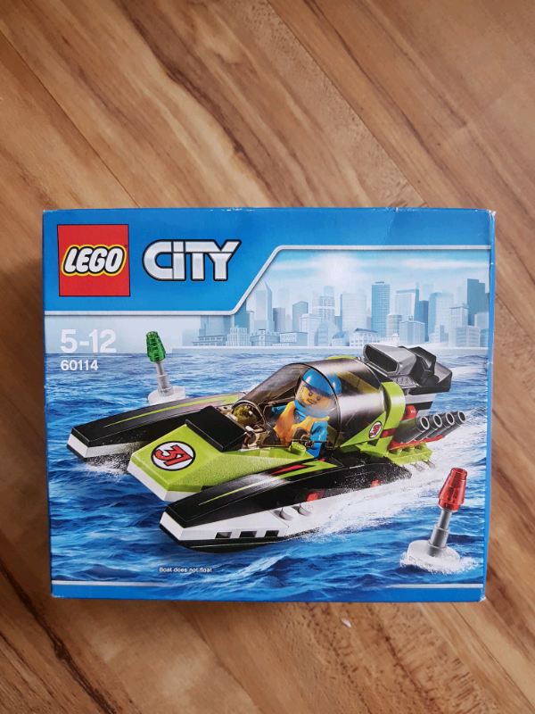Lego City Race Boat 60114 New Retired In Speedwell Bristol Gumtree