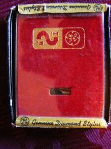 Vintage General Electric Diamond Stylus Insert RPJ-01D - In Box