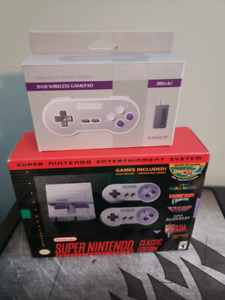 Like New SNES Classic and 8bitDo SN30 Wireless Controller